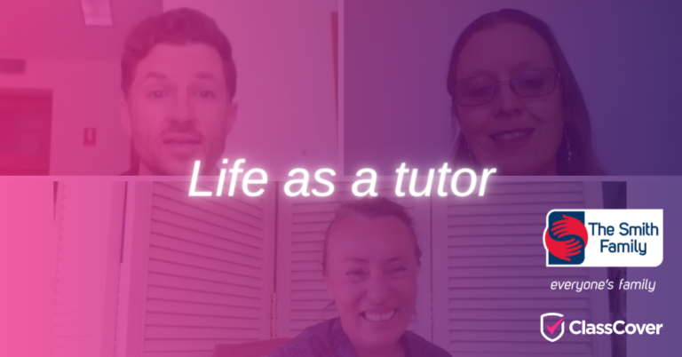 Life as a Tutor with The Smith Family's Catch-up Learning Program